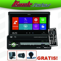 Autoestereo In Dash Pantalla Touch 7 Gps Usb Dvd Sd Mp4