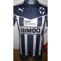 Jersey Monterrey Puma Niño 2015-2016 Local Rayados Liga Mx