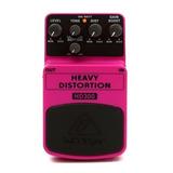 Behringer Hd-300 Heavy Distortion Pedal Guitarra Distorsion