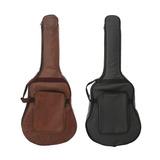 Waterproof Guitar Gig Bag Case Pu Leather Bag For 40\'\' 41\