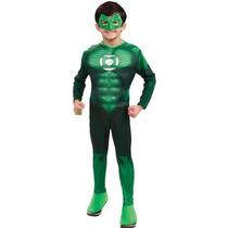 Linterna Verde Traje - Dlx. Hal Jordan Mediano Muchachos De