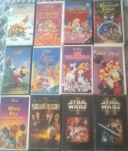Lote De 48 Películas De Disney Vhs $8000 JpBLa