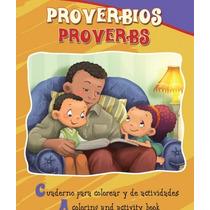 Set 4 Libros Para Colorear. Bilingües. Salmos Y Proverbios