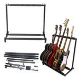 Soporte Rack Para 5 Guitarras Exhibicion Envio Gratiss
