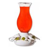 Bebedero Para Colibrí Perky-pet  Blanco 4 Estaciones 470 Ml.