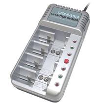 Cargador Bateria Recargable 5 En 1 Aa/aaa Pro541 Lenmar