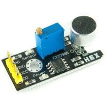 Sensor De Sonido Microcontroladores Atmel Pic Arduino Hm4