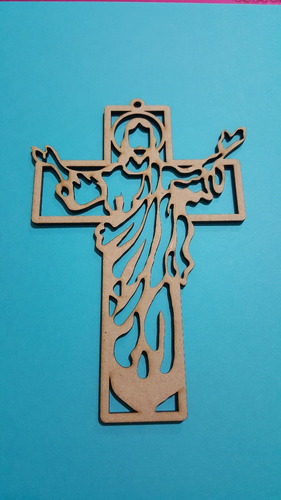 Recuerdos De Bautizo Cruz De Madera.Cruz De Madera Recuerdos Bautizo Boda Mdf 15cm Cristo 12