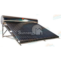 Calentador Solar 30 Tubos. Inox. 12 Meses Sin Intereses