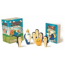Mini Coleccionable Adventure Time Juego De Bolos Bowling