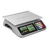 Báscula Comercial Digital Rhino Bar-9 40 Kg 110v Gris