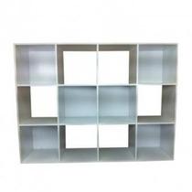 Librero Organizador 12 Nichos Lb218 Bl