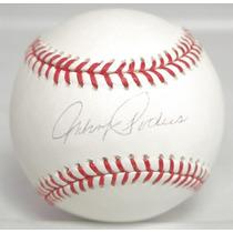 Pelota Firmada Johnny Podres Los Angeles Brooklyn Dodgers