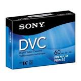 Video Cassette Digital Sony Mini Dv 60min Dvc Premium
