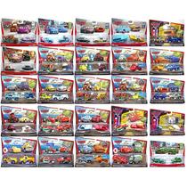 Cars Disney Mater Mcquee Francesco Nigel Max Finn Set Dobles
