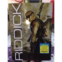 Riddick Vin Diesel 3 Peliculas. Dvd