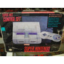 Consola Super Nintendo Con Caja Control Cables Garantizada!!