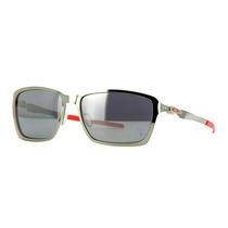 Oakley Ferrari Tincan Black Chrome / Black Iridium Polarized