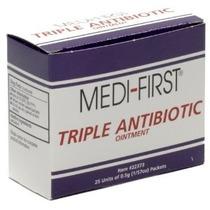 Triple Antibiótico Crema Pomada - 25 Ct Caja Individual Unid
