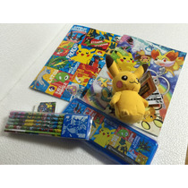 Pokemon Center Papelería Para Niños Japones