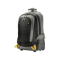 Roller Backpack Hp 15.6 Con 3 Compartimentos Negra/gris