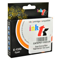 Cartuchos De Tinta E-133 Impresoras Epson T12 T22 Tx120 Cyan