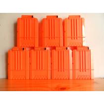 Nerf N-strike 2 Naranja Shorty Suave Clip