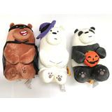Osos Escandalosos Combo 3 Peluches Halloween We Bare Bears