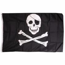 Bandera De Pirata 1.5por90cm Para Agencia Club Fiestas