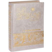 Biblia Latinoamericana Letra Grande Y Tapa Dura Nacarada