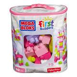 Mega Bloks Bolsa Grande De Construcción Rosa