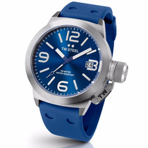 Tw Steel Canteen Fashion Azul 45mm Tw500 Diego Vez