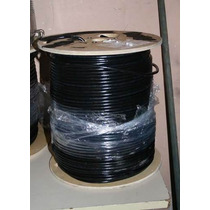 Bobina 305 Mts Coaxial Rg6 Made In Mexico Envio Gratis!!