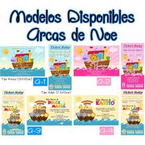 Invitaciones Baby Shower Arca De Noe Arma E Imprime Tu Kit!