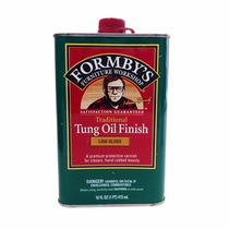 Acabado Para Madera Tung Oil Low Gloss Formby