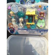 Elsa Y Anna Little Kingdom Miden 8 Cm