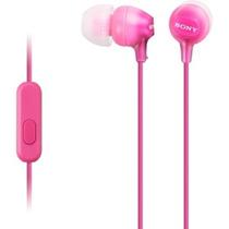 Audifonos Android Sony C/microfono Agudos Y Medios Rosa