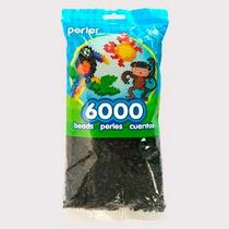 Perler Beads :: Bolsa C/6000 Cuentas (negro, Blanco O Rojo)