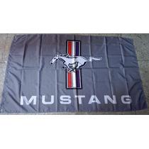Bandera Ford Mustang 1.5por90cm Agencia Club Carreras Racing