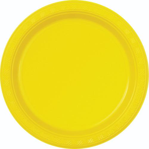 60 Platos Grandes Alimento Mucho Colores Fiesta Desechables 4af391f41ac8