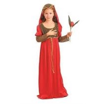 Traje Medieval - Tutor Red Julieta Chica Vestido De Lujo