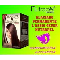 Alaciado Permante Chocolate Nutrapel 300g