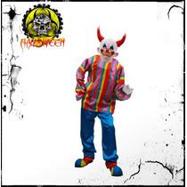 Disfraz De Payaso Diabolico Para Halloween