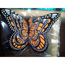 Familia Mariposas Monarca Con Iman Para Refrigerador