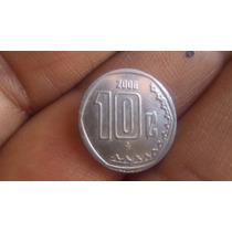 Moneditas De 10 Cvs Mexicanos En Circulación. (monjitas)