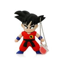 Genial Memoria Usb De Goku Dragon Ball Z De 8 Gigas