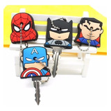 Cubre Llaves Silicon Superman Batman Kitty Garfield Y Mas