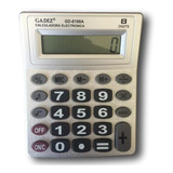 Calculadora De Escritorio 8 Digitos 14 X 11cm Gadiz Gd8188a
