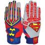 Guantaletas Underarmour  Superman -piel--ajuste Perfecto-pro