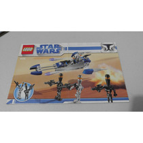 Lego 8015 Assassin Droid Pack Star Wars Instructivo O Manual